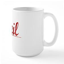 Neil, Vintage Red Mug