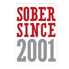 Sober Since 2001 Postcards (Package of 8)