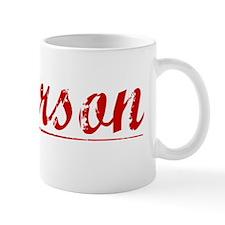 Paterson, Vintage Red Mug
