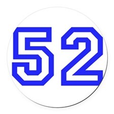 #52 Round Car Magnet