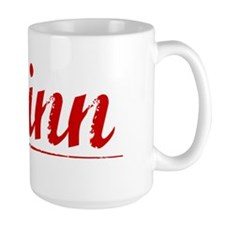 Quinn, Vintage Red Mug