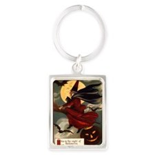 witches may be seen Portrait Keychain