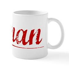 Ronan, Vintage Red Small Mug