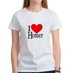I Love Homer Women's T-Shirt