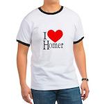 I Love Homer Ringer T