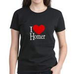 I Love Homer Women's Dark T-Shirt