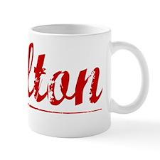 Skelton, Vintage Red Mug