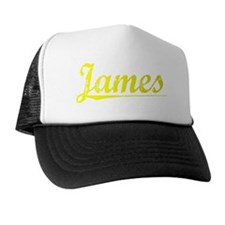James, Yellow Trucker Hat