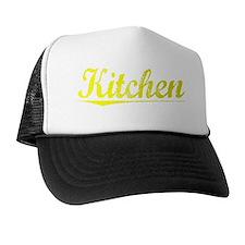 Kitchen, Yellow Trucker Hat