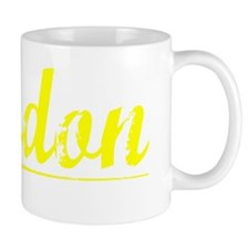 Landon, Yellow Mug