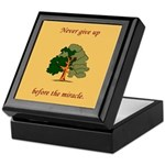 Oak Tree Keepsake Box
