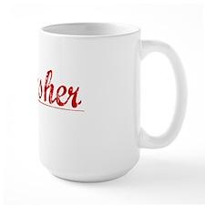 Thrasher, Vintage Red Mug