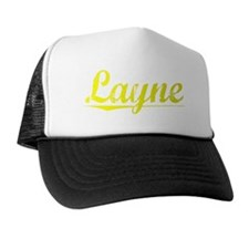 Layne, Yellow Trucker Hat