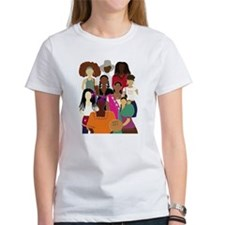 Brown Lady Collage Tee
