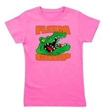 blk_Florida_Gator_Chomp_002 Girl's Tee