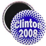 Mesh Clinton 2008 Magnet