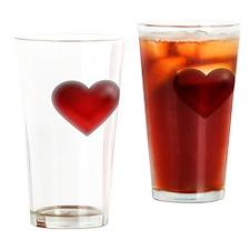 I Heart Greenland Drinking Glass
