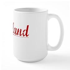 Wayland, Vintage Red Mug