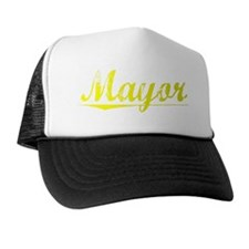 Mayor, Yellow Trucker Hat