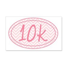 10k Pink Chevron Wall Decal