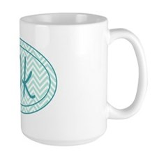 10k Blue Chevron Mug