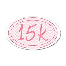 15k Pink Chevron Wall Decal