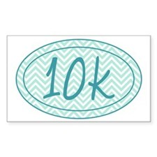 10k Blue Chevron Decal