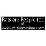 Rats are People too!!!