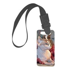 Little George Hairlesson Luggage Tag