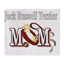 Jack Russell Terrier Mom Throw Blanket