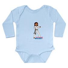 Martial Arts Girl - Long Hair Long Sleeve Infant B