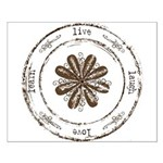 live, laugh, love, learn Small Poster