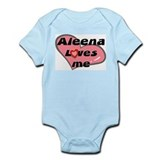 aleena loves me  Onesie