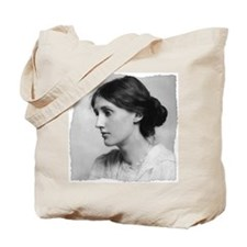 virginia-woolf (framed with ArtEdges) Tote Bag
