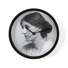 virginia-woolf (framed with ArtEdges) Wall Clock
