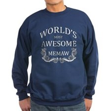 World's Most Awesome Memaw Sweatshirt