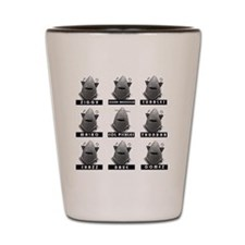 Invasion of the Neptune Men Shot Glass