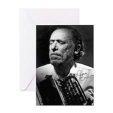 Charles Bukowski Greeting Card