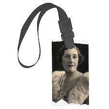 Agatha Cristie Luggage Tag