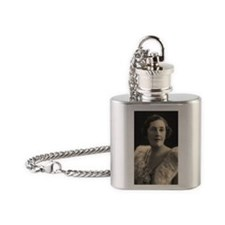 Agatha Cristie Flask Necklace