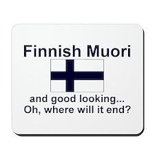 Finnish Muori-Good Lkg Mousepad