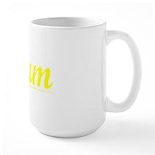 Plum, Yellow Mug