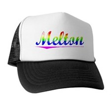 Melton, Rainbow, Trucker Hat