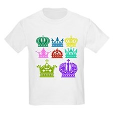 Colored Crown Silhouette Collection T-Shirt