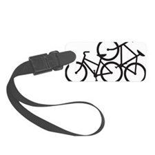 Bike Love Luggage Tag