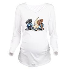 Lab Play Long Sleeve Maternity T-Shirt