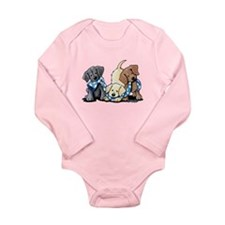 Lab Play Long Sleeve Infant Bodysuit
