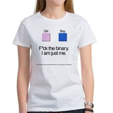 Binary + Text Tee