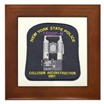 NYSP Collision Investigation Framed Tile
