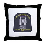 NYSP Collision Investigation Throw Pillow
